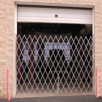 Galvanized Folding Security Gates KA031 | Par Equipment