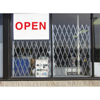 Storefront Window Gates KH876 | Par Equipment