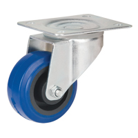 Blue Elastic Rubber Caster MO511 | Par Equipment