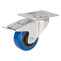Blue Elastic Rubber Caster MO513 | Par Equipment