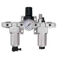 Modular Filter, Regulator & Lubricator (Gauge Included) TYY184 | Par Equipment