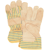 Standard Quality Grain Cowhide Patch Palm Fitters Gloves SFQ696 | Par Equipment